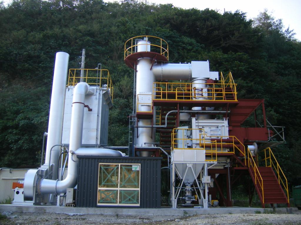 中型焼却炉 TG195