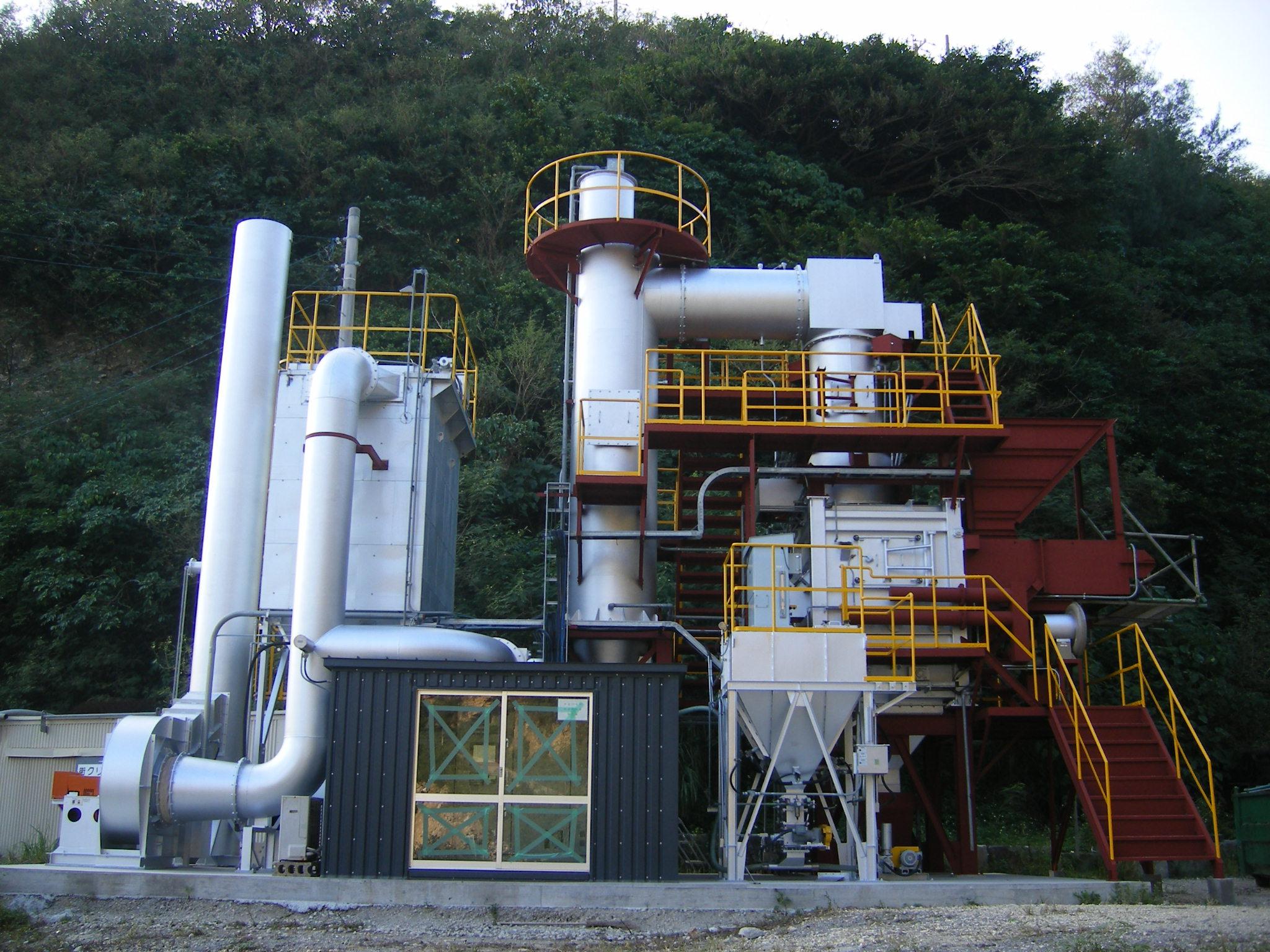 中型焼却炉TG195