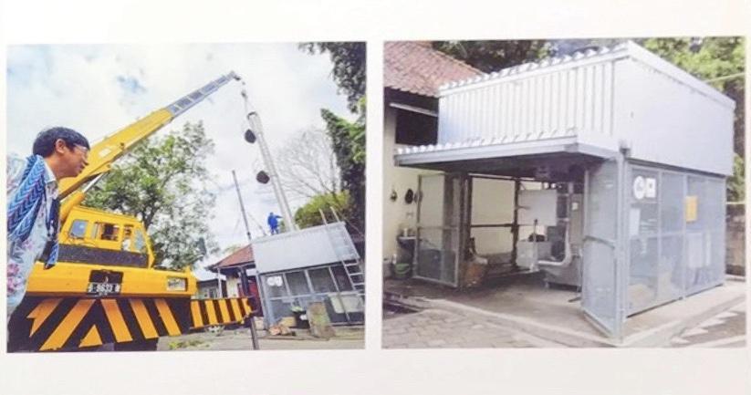 インドネシア、バリ島デンパサール市ワンガヤ市立総合病院への設置
